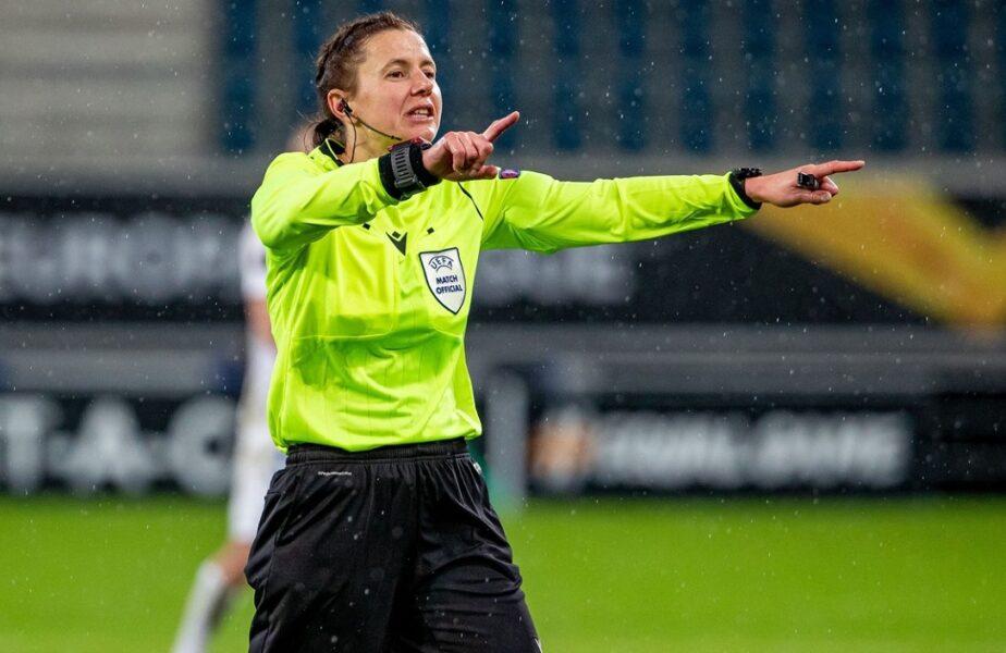 Cine este Kateryna Monzul, prima femeie arbitru care va conduce de la centru un meci al României