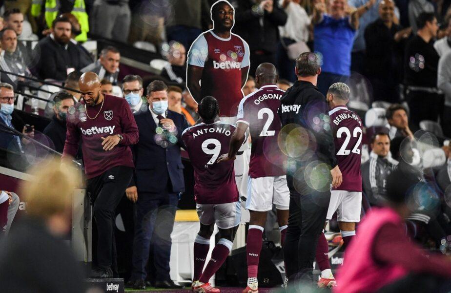 Michail Antonio, cea mai tare celebrare după marcarea unui gol! A intrat în istoria lui West Ham