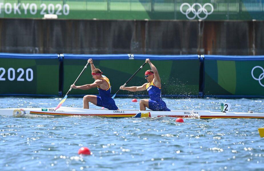 Jocurile Olimpice 2020 | România, la patru secunde de medalie la canoe! Victor Mihalachi şi Cătălin Chirilă, locul 5 în proba de dublu 1000 metri