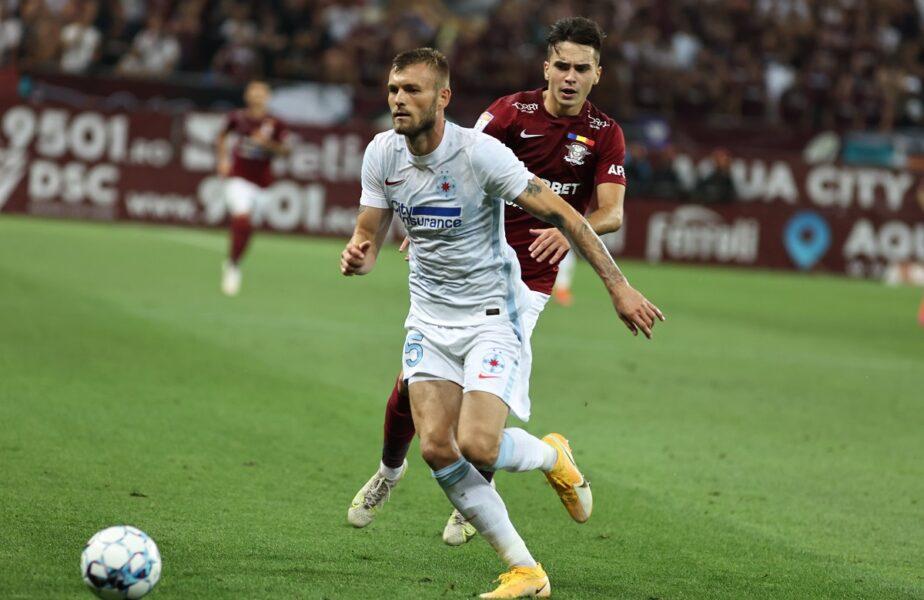 """Alex Creţu e tot mai aproape de plecarea de la FCSB! Fundaşul, dorit în Liga 1 după ce a fost criticat de Gigi Becali: """"O să avem o echipă mai bună!"""""""