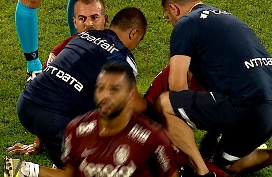 CFR Cluj – Young Boys | Dezastru pentru Denis Alibec şi Marius Şumudică! Atacantul a rezistat doar 20 de minute pe teren