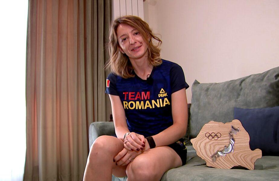 """Reportaj special acasă la Ana Maria Brânză, după performanţa obţinută la Jocurile Olimpice 2020. """"Chiar am făcut o mare brânză!"""". Medalia stă la loc de cinste"""