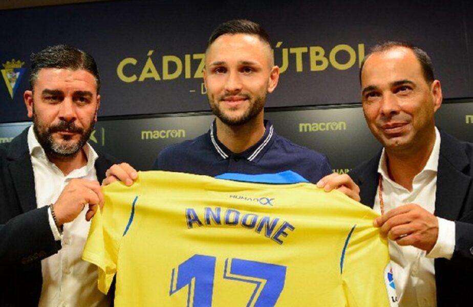 """Florin Andone, prima reacție după transferul la Cadiz. """"Să mă întorc în Spania înseamnă să mă întorc acasă!"""""""