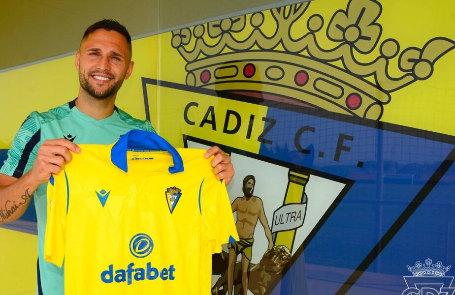 OFICIAL | Florin Andone a revenit în La Liga! Românul a fost împrumutat la Cadiz