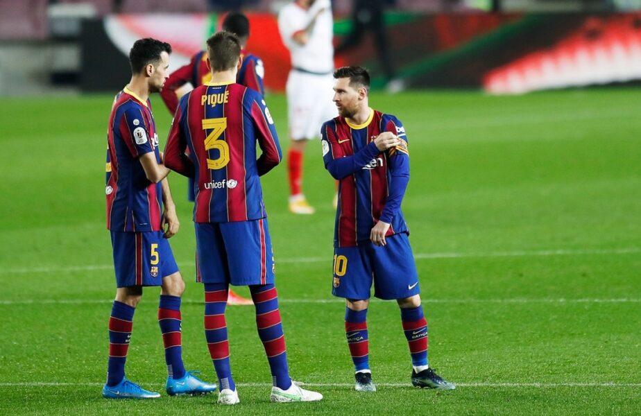 """Barcelona a decis! Cine va fi noul căpitan al catalanilor după plecarea lui Lionel Messi + Maniera inedită în care au fost prezentaţi """"liderii"""" de pe Camp Nou"""