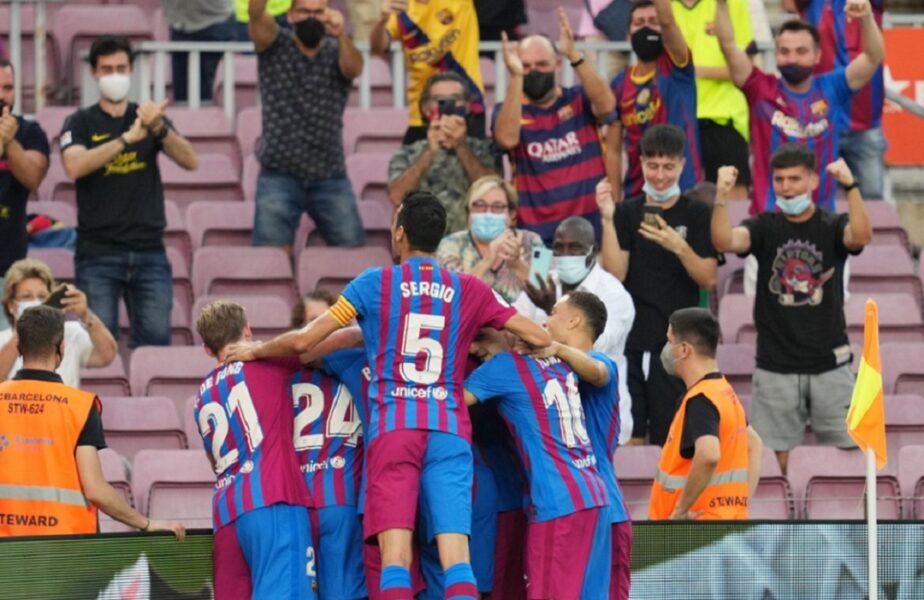 Barcelona – Real Sociedad 4-2. Emoții uriașe la primul meci fără Lionel Messi! Braithwaite, eroul surpriză de pe Camp Nou