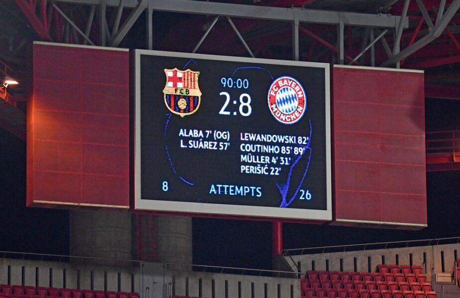 Barcelona a dat peste coșmarul Bayern în grupele Champions League! Catalanii au ocazia să facă uitat acel antologic 2-8