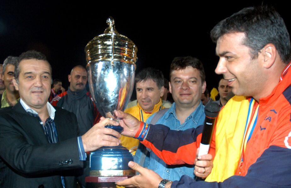 """Cosmin Olăroiu, genial când a fost întrebat dacă ar putea lucra cu Gigi Becali la FCSB. """"Cam asta e întrebarea"""""""