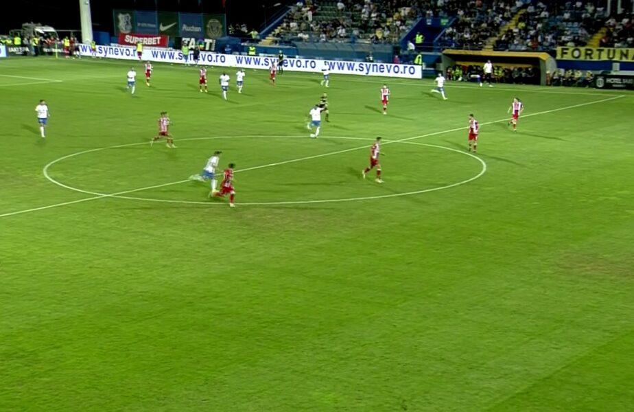 ULUITOR. Jefte Betancor a marcat golul începutului de sezon! Reuşită de la mijlocul terenului în Farul – Dinamo. Eşanu s-a făcut de râs!