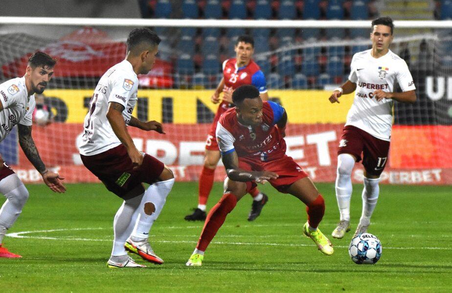 FC Botoşani - Rapid 0-2. Record absolut înregistrat de giuleşteni!