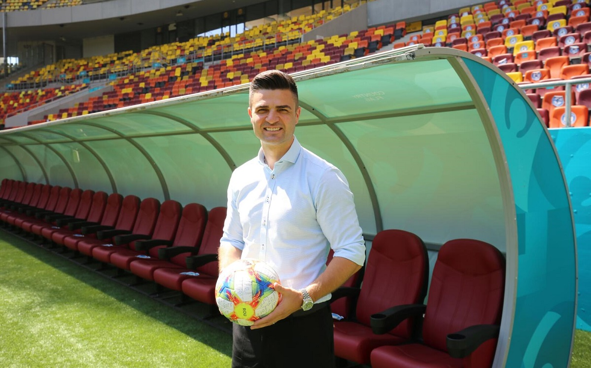 Florin Bratu, selecţionerul României U21