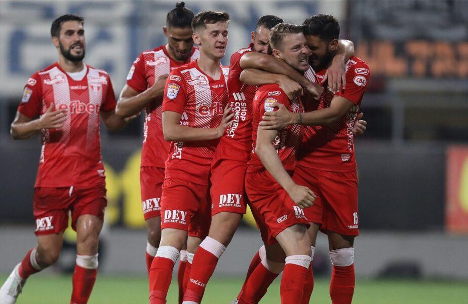 Gaz Metan Mediaş – UTA 0-1. Jucătorul dorit de Gigi Becali la FCSB a dat lovitura în minutul 90! Arădenii au urcat pe podium