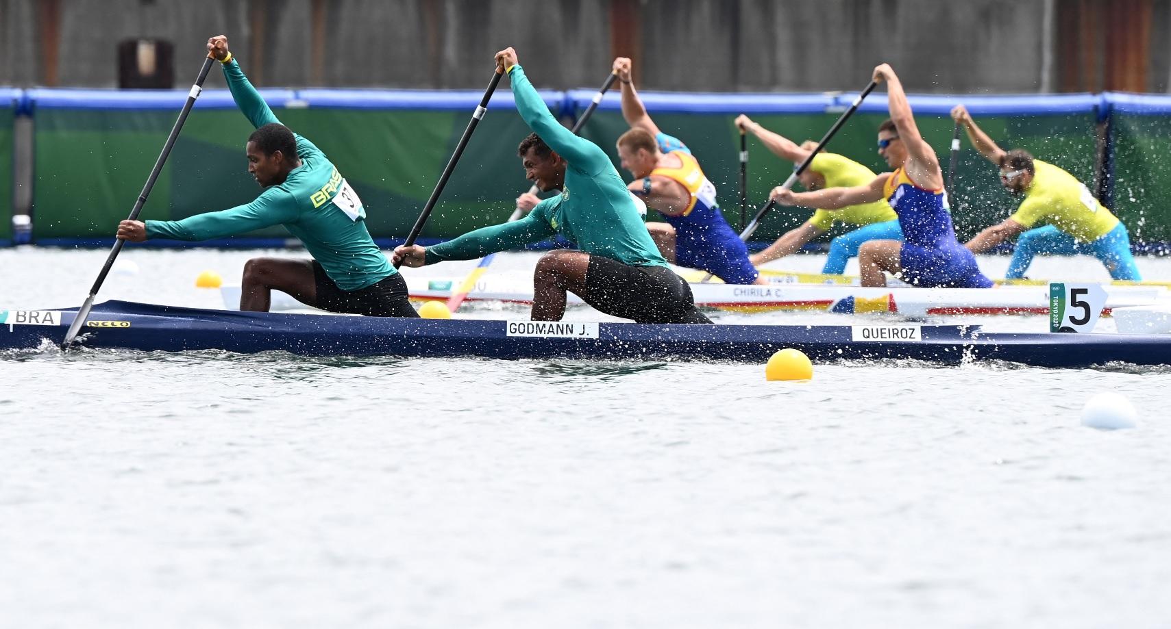 Jocurile Olimpice 2020   Tragem pentru finală. Echipajul de canoe dublu s-a calificat în semifinale