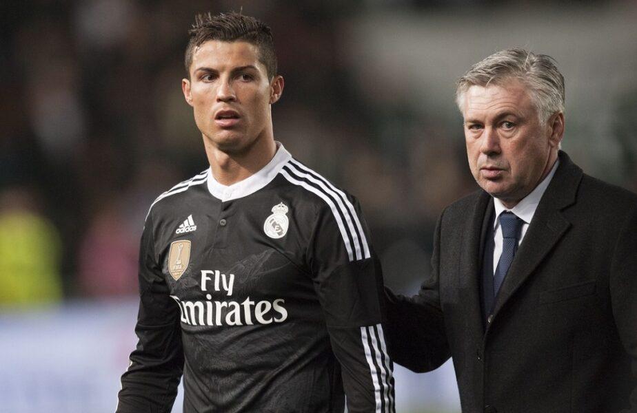 """Anunțul lui Carlo Ancelotti despre posibila revenire a lui Cristiano Ronaldo la Real Madrid. """"Are toată dragostea și respectul meu!"""""""