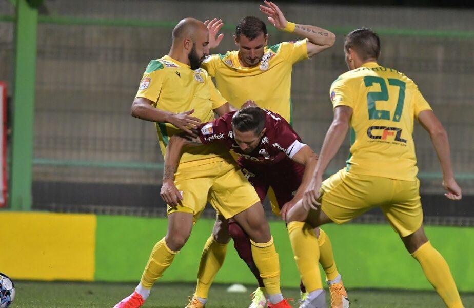 """CFR Cluj nu se mulțumește cu golul din ofsaid de la Mioveni: """"Am avut două penalty-uri! Dacă noi suntem avantajaţi de arbitri…"""""""