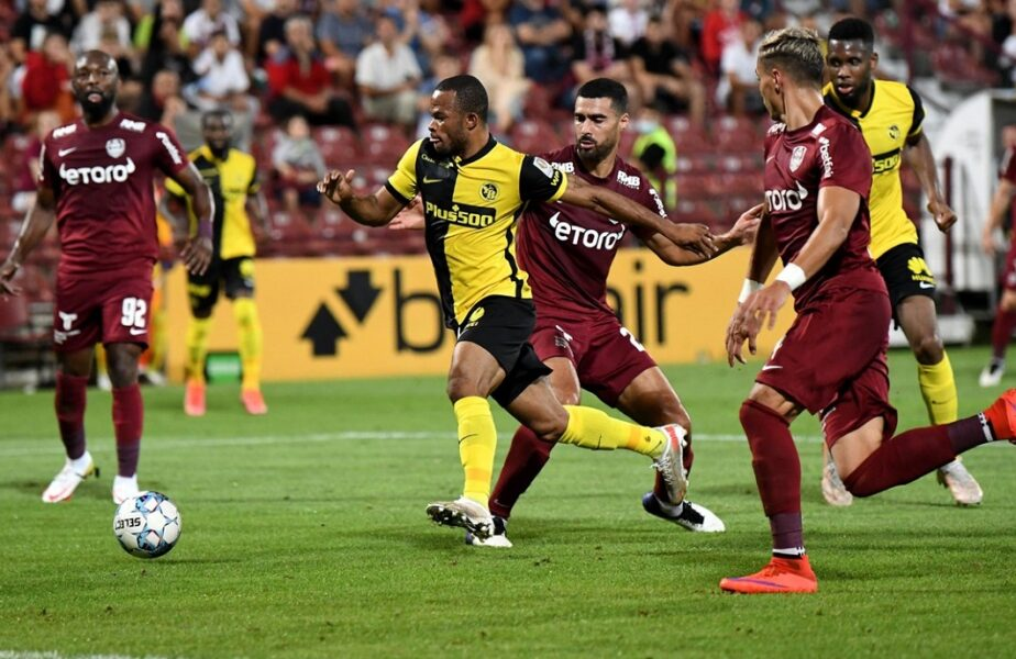 Young Boys – CFR Cluj 3-1. Campioana României, eliminată din preliminariile Champions League! Echipa lui Șumudică va juca în play-off-ul Europa League