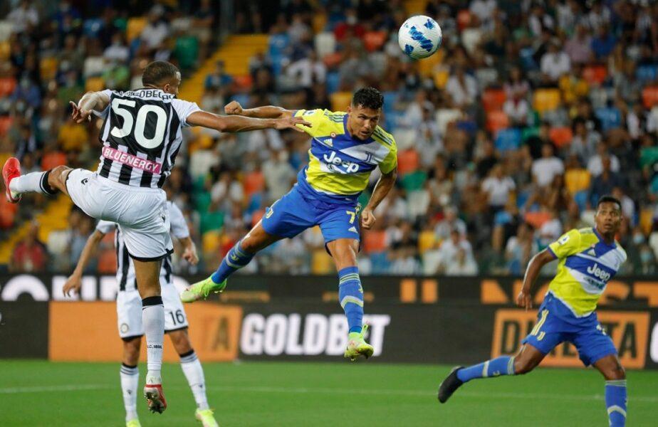"""Familia lui Cristiano Ronaldo """"a luat foc"""" după golul anulat în prelungirile meciului Udinese – Juventus 2-2. """"Să înceapă hoția!"""""""