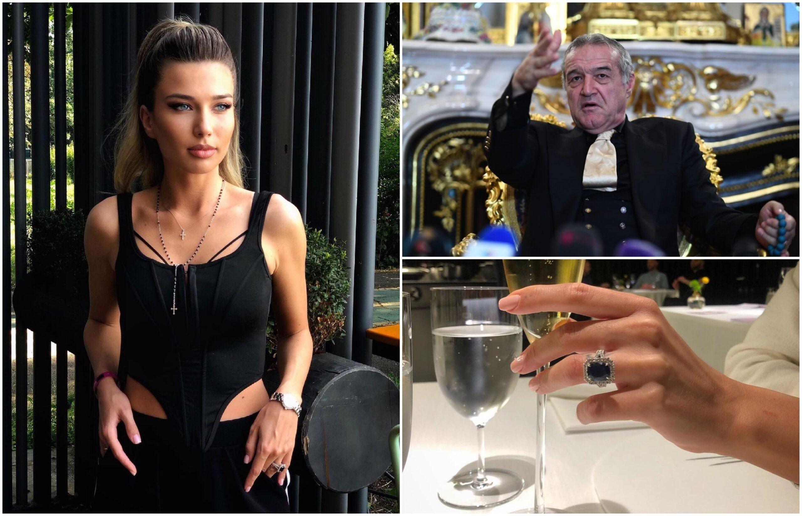 Condiţia lui Gigi Becali ca să îi fie naş Mariei Iordănescu / Instagram şi Profimedia