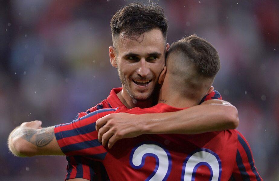 CSA Steaua – Csikszereda 1-0. Coincidenţă incredibilă! Bogdan Chipirliu e primul jucător care a marcat pe noul Ghencea într-un meci oficial. Victorie uriaşă pentru echipa lui Opriţa