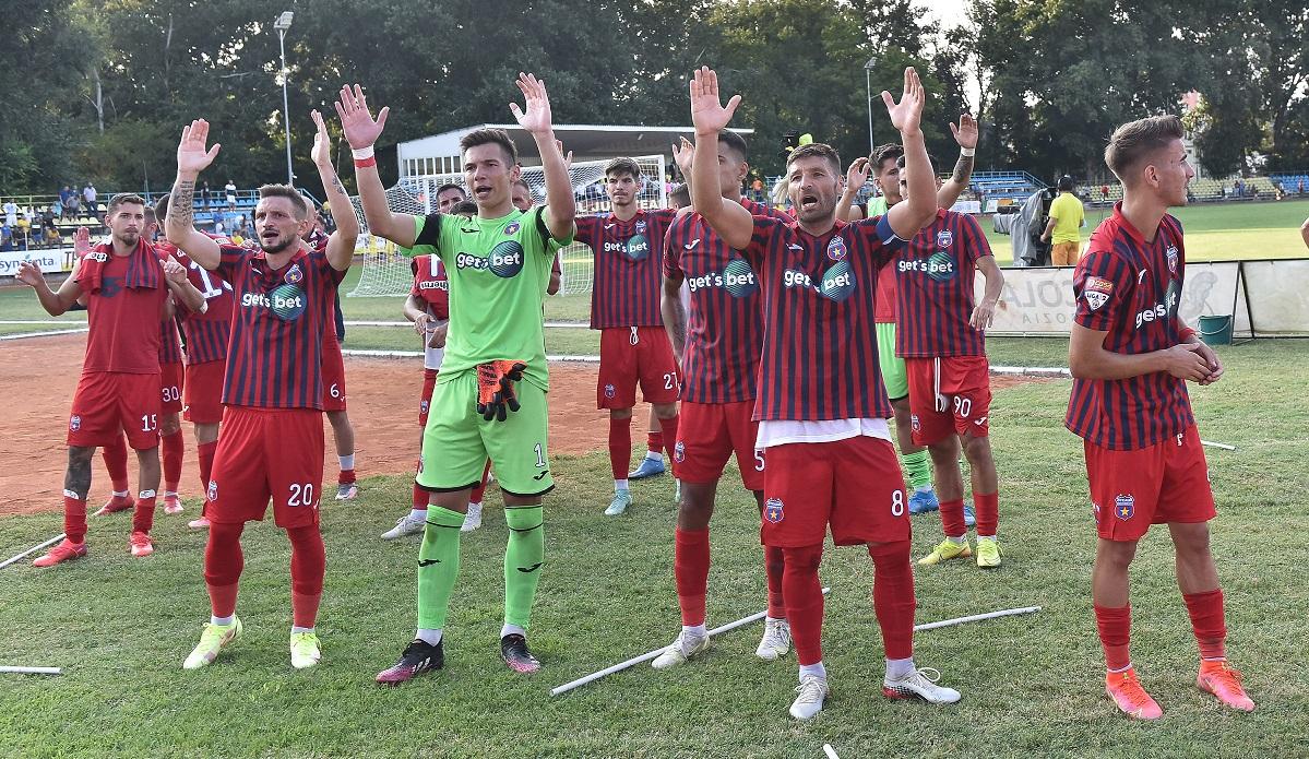 CSA Steaua și-a prezentat iarăși echipamentul