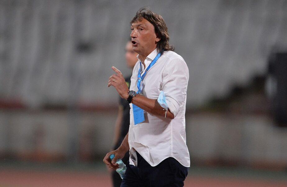 """Haos la Dinamo! Conducerea aşteaptă demisia lui Bonetti! Italianul, mesaj de adio: """"Sper ca echipa să-și revină!"""" Cine a fost numit interimar"""