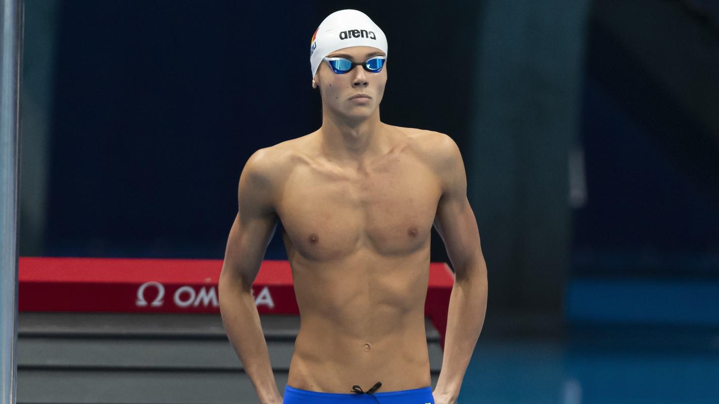 Jocurile Olimpice 2020 | David Popovici, Racheta din România, a dezvăluit ce i-a spus uriaşul Caeleb Dressel