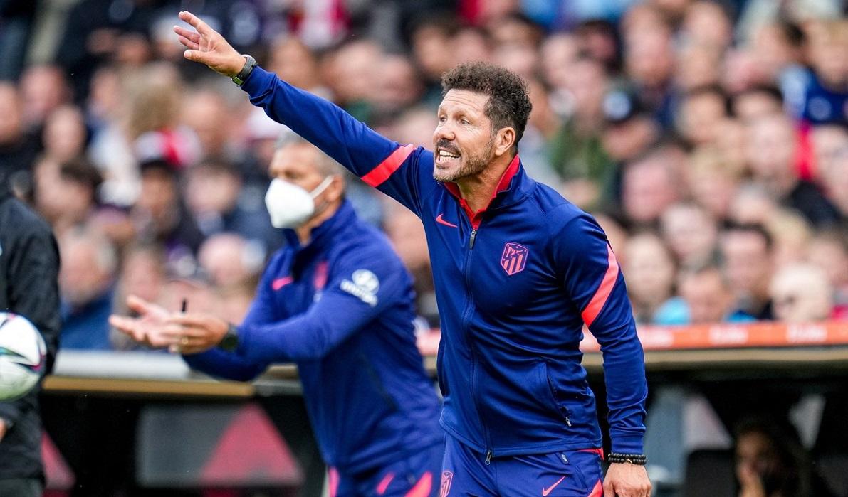 Diego Simeone și-a ieșit din minți la ultimul amical al lui Atletico Madrid