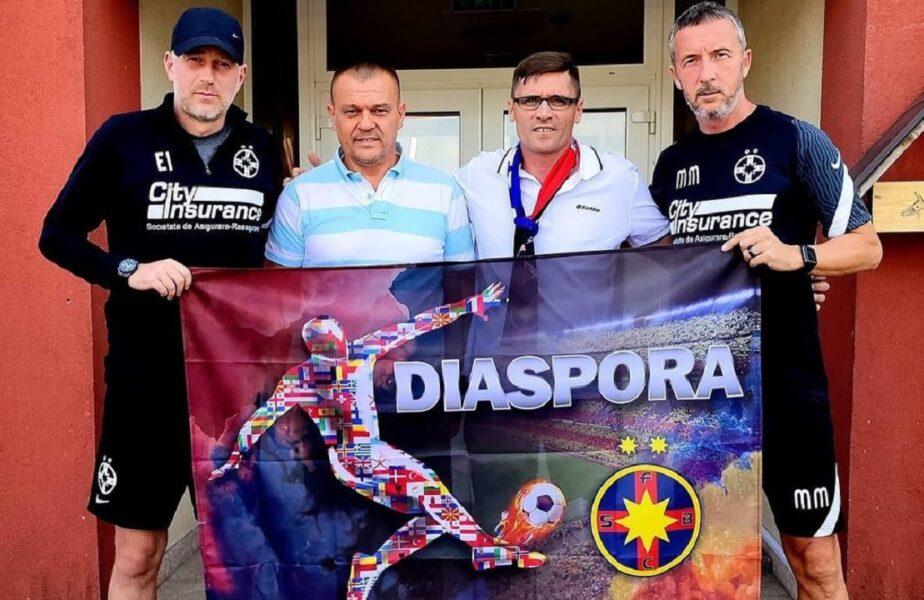 """Mihai Stoica, primele imagini alături de Edi Iordănescu. """"Este un succes să lucrăm împreună!"""""""