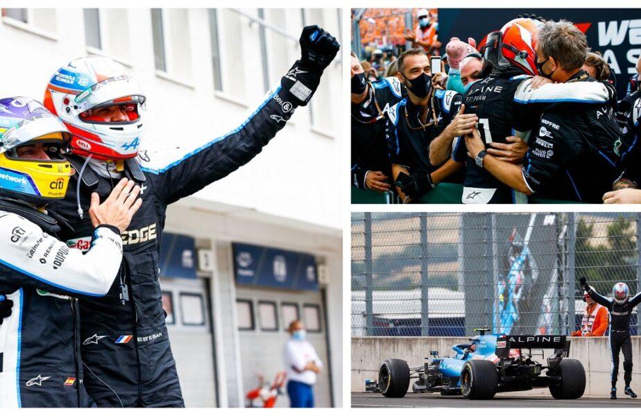 Nebunie la Hungaroring. Esteban Ocon a câştigat Marele Premiu al Ungariei. Sebastian Vettel, descalificat!