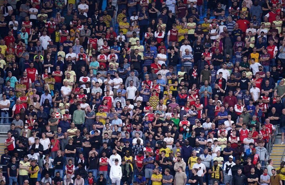 """Ce umilinţă! Manchester City a dat de pământ cu Arsenal, noua """"lanternă roşie"""" din Premier League! Fanii """"tunarilor"""" au oferit momente geniale pe Etihad"""