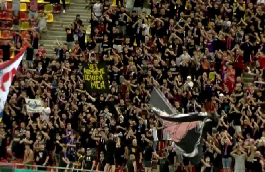 Fanii lui FCSB s-au ținut de cuvânt! Câţi ultraşi au venit să vadă debutul lui Edi Iordănescu pe banca roș-albaștrilor