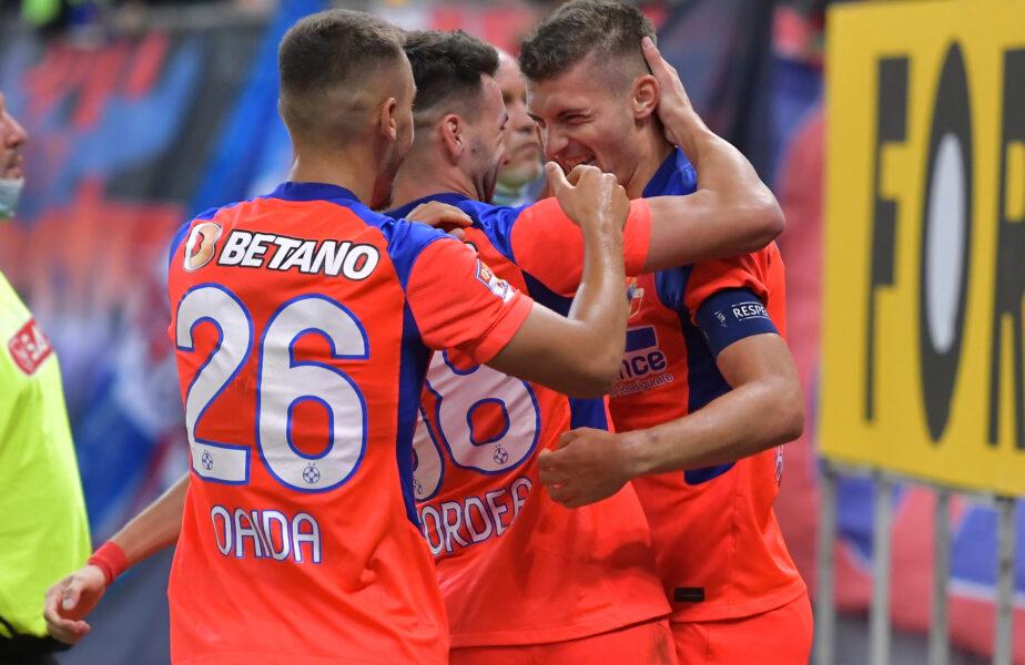 """FCSB – Gaz Metan 2-1   Roş-albaştrii s-au revanşat în faţa fanilor! Octavian Popescu a reuşit o """"bijuterie"""" de gol"""