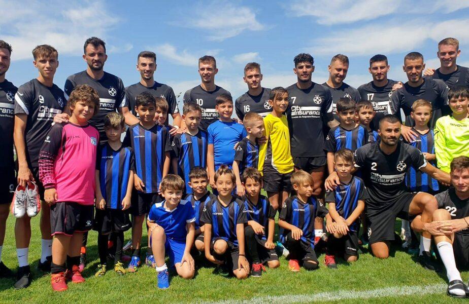 Vedetele lui FCSB s-au întâlnit cu juniorii la Berceni! Octavian Popescu și Florinel Coman, favoriții puștilor + Nebunia lui Vali Crețu