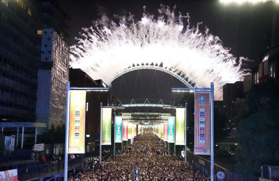 """Finala EURO 2020, de pe Wembley, ar fi fost un eveniment """"super-propagator"""" de Covid-19. Detalii incredibile din Anglia"""