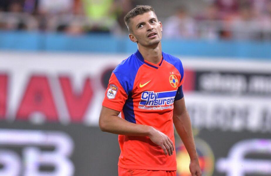 Florin Tănase ratează derby-ul cu Dinamo! Cât va absenta căpitanul de la FCSB și la ce meci ar putea reveni pe gazon