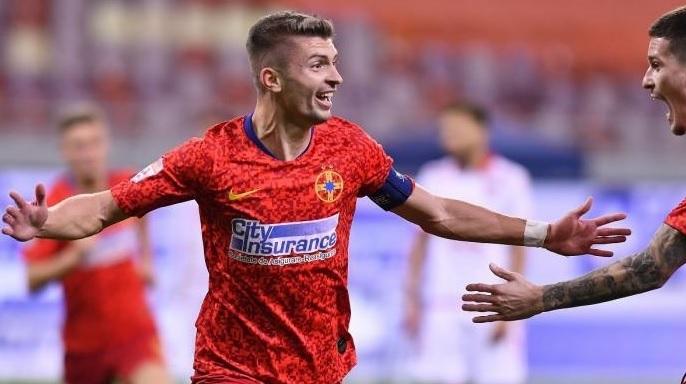 """Florin Tănase a făcut show după FCSB – Gaz Metan 2-1. """"Am avut emoţii la penalty"""" + """"Ironii ieftine! O să vadă Rapid cine suntem!"""""""