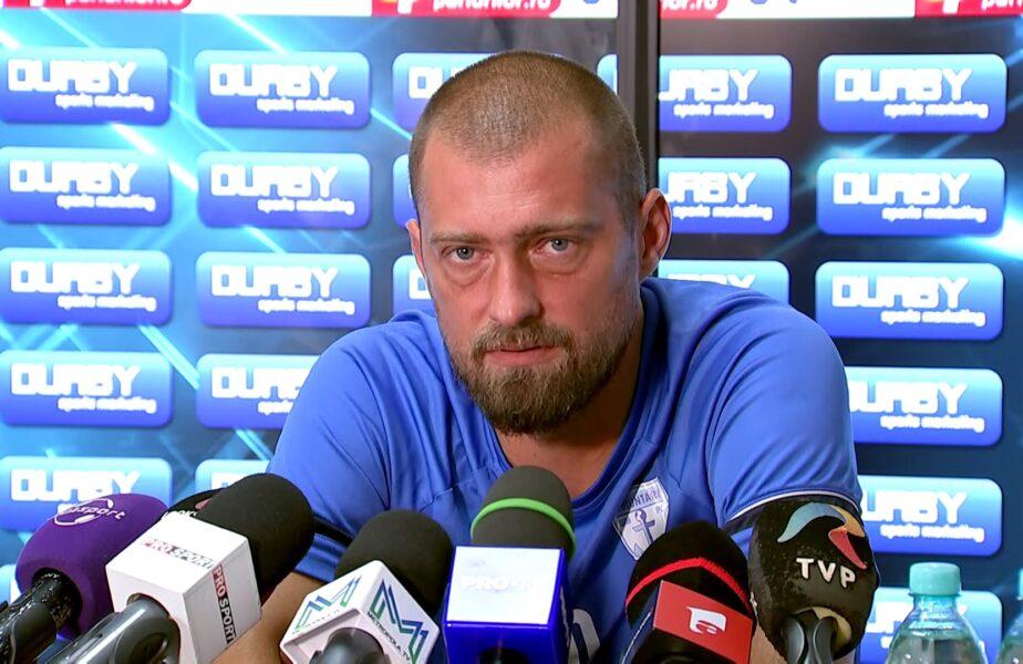 """Gabi Tamaş s-a săturat! Nu mai vrea să fie căpitan şi preşedinte la FC Voluntari: """"Mă cam doare capul. Nu vreau să intru în spital pentru un club de fotbal!"""""""