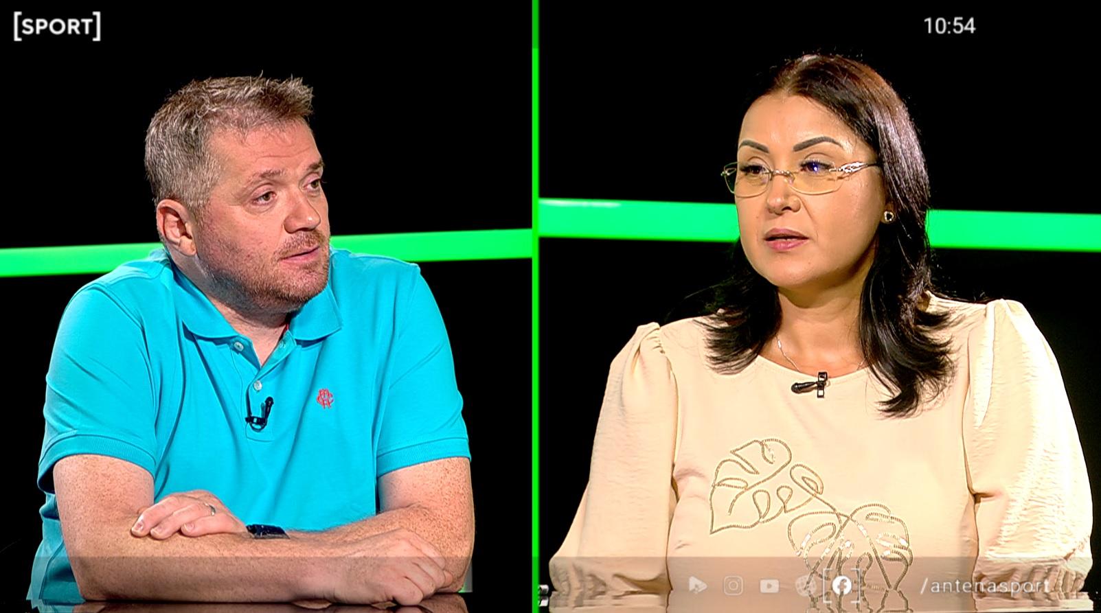 Georgeta Andrunache a fost invitată la AS.ro LIVE