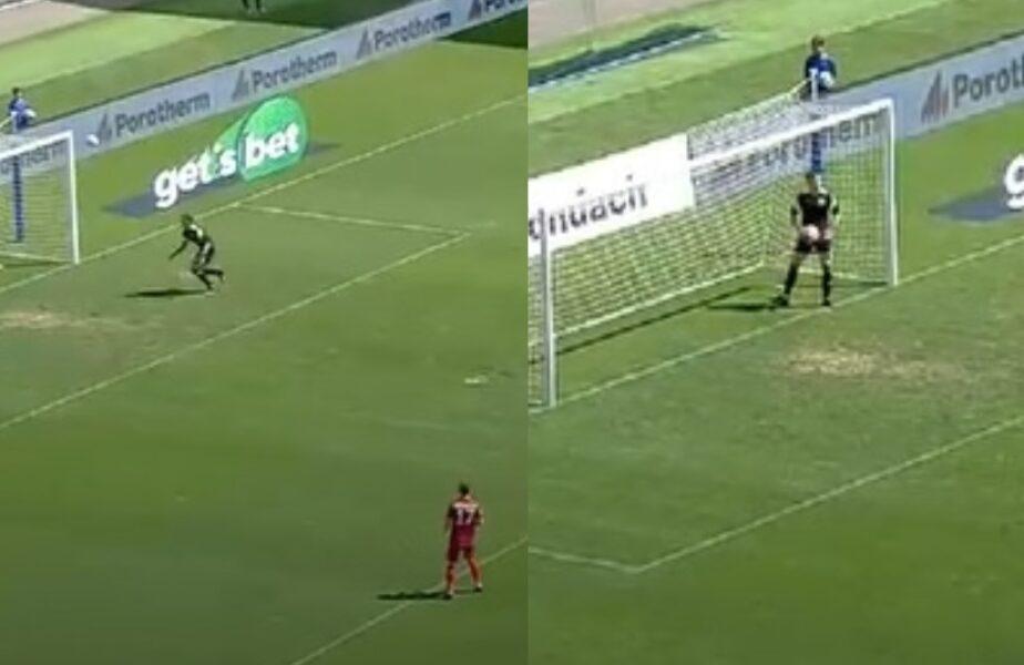 Ar fi fost golul anului în România, în meciul Stelei. Execuţia de la peste 75 de metri a portarului. Greşeală uriaşă. De ce a fost anulat