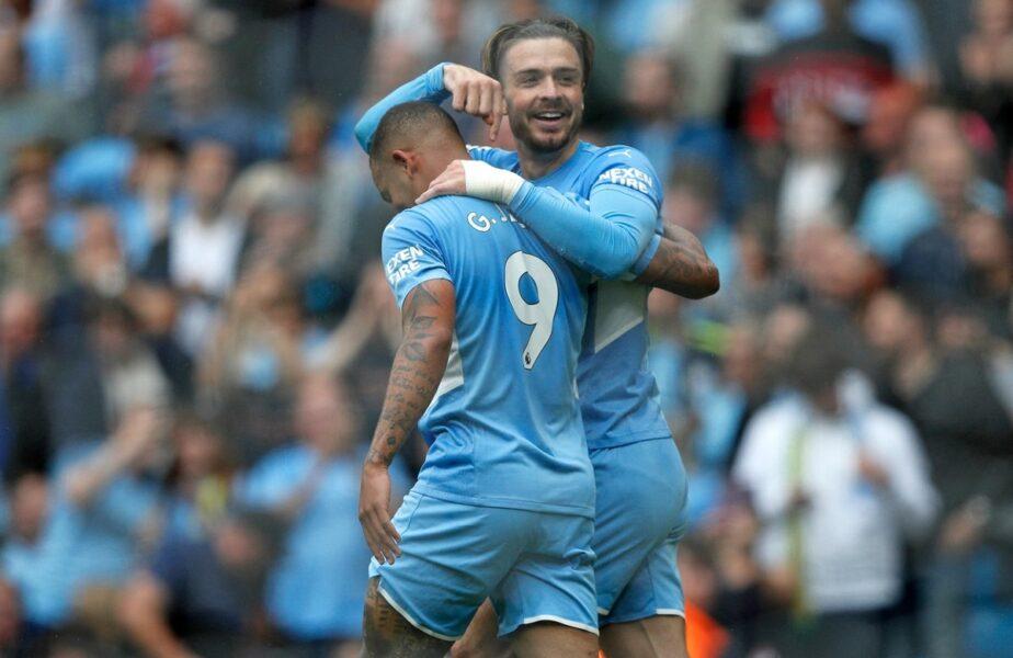 Reacţia lui Jack Grealish după ce a marcat primul gol în tricoul lui Manchester City + Cum i-a călcat pe urme lui Frank Lampard