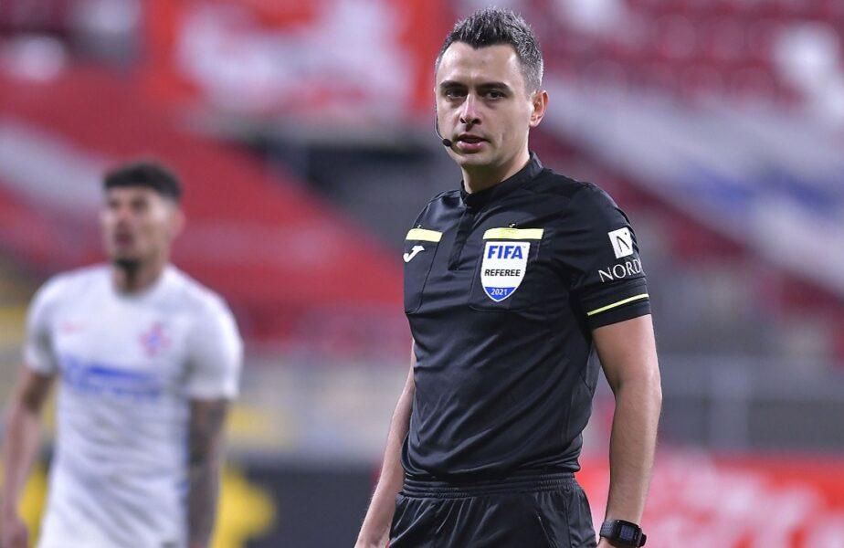 """Favoritul lui Gigi Becali, delegat la FCSB – Sepsi. Roş-albaştrii au obţinut rezultate excelente cu arbitrul care are """"nume biblic"""""""