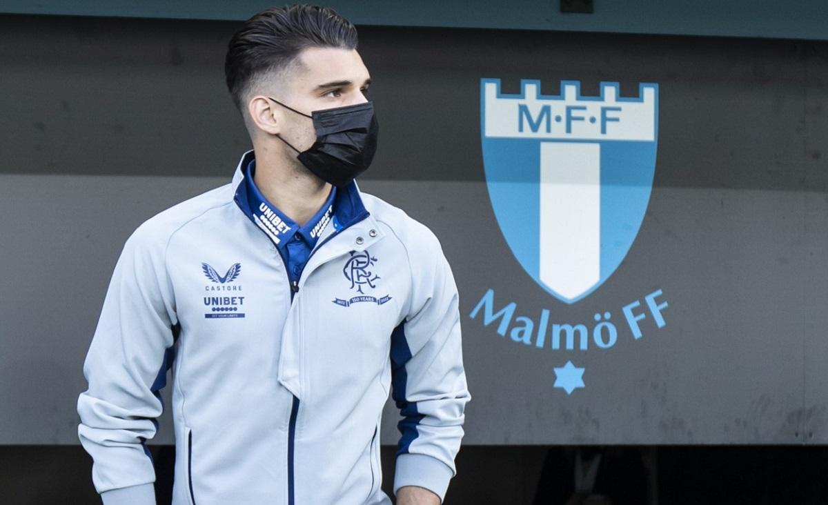 Ce a păţit Ianis Hagi chiar înainte de Malmo - Rangers