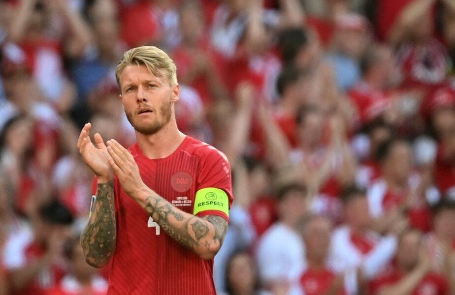 """Simon Kjaer va fi premiat de UEFA după ce i-a salvat viața lui Christian Eriksen. """"Ne reamintește cât de importantă este valoarea vieții!"""""""