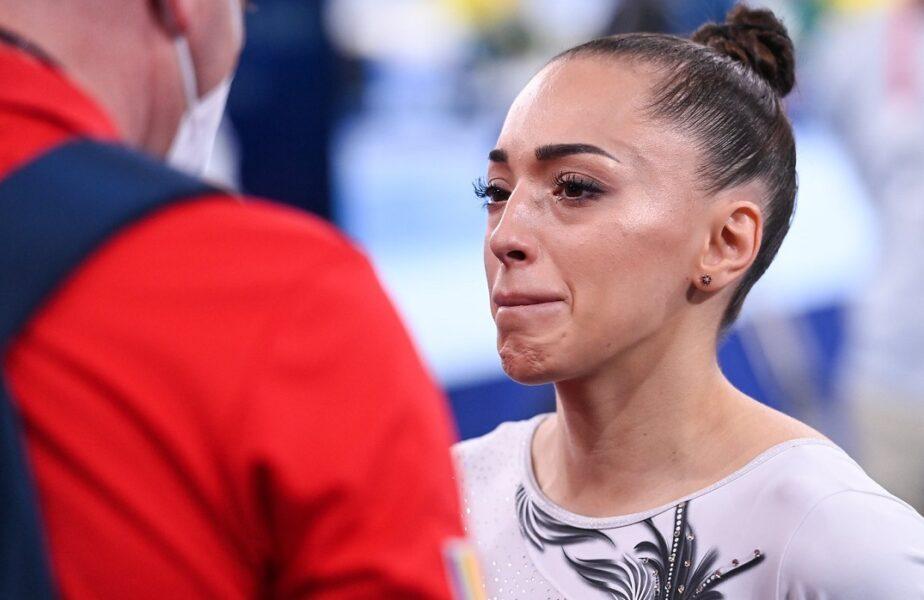 Lariosa Iordache, în lacrimi, după abandonul de la JO 2020, din finala de la bârnă