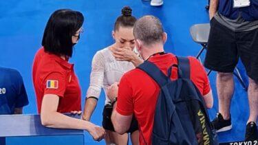 Larisa Iordache, OUT de la Tokyo! Imaginea emoţionantă cu campioana noastră cu lacrimi în ochi