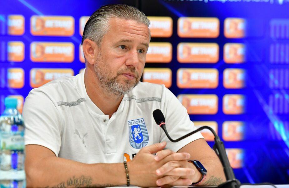 Laurenţiu Reghecampf, îngrijorat înaintea derby-ului Rapid - Universitatea Craiova