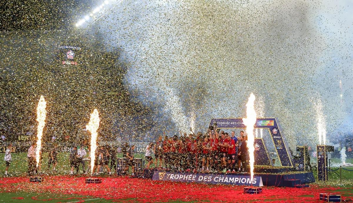 Lille a câştigat Supercupa Franţei