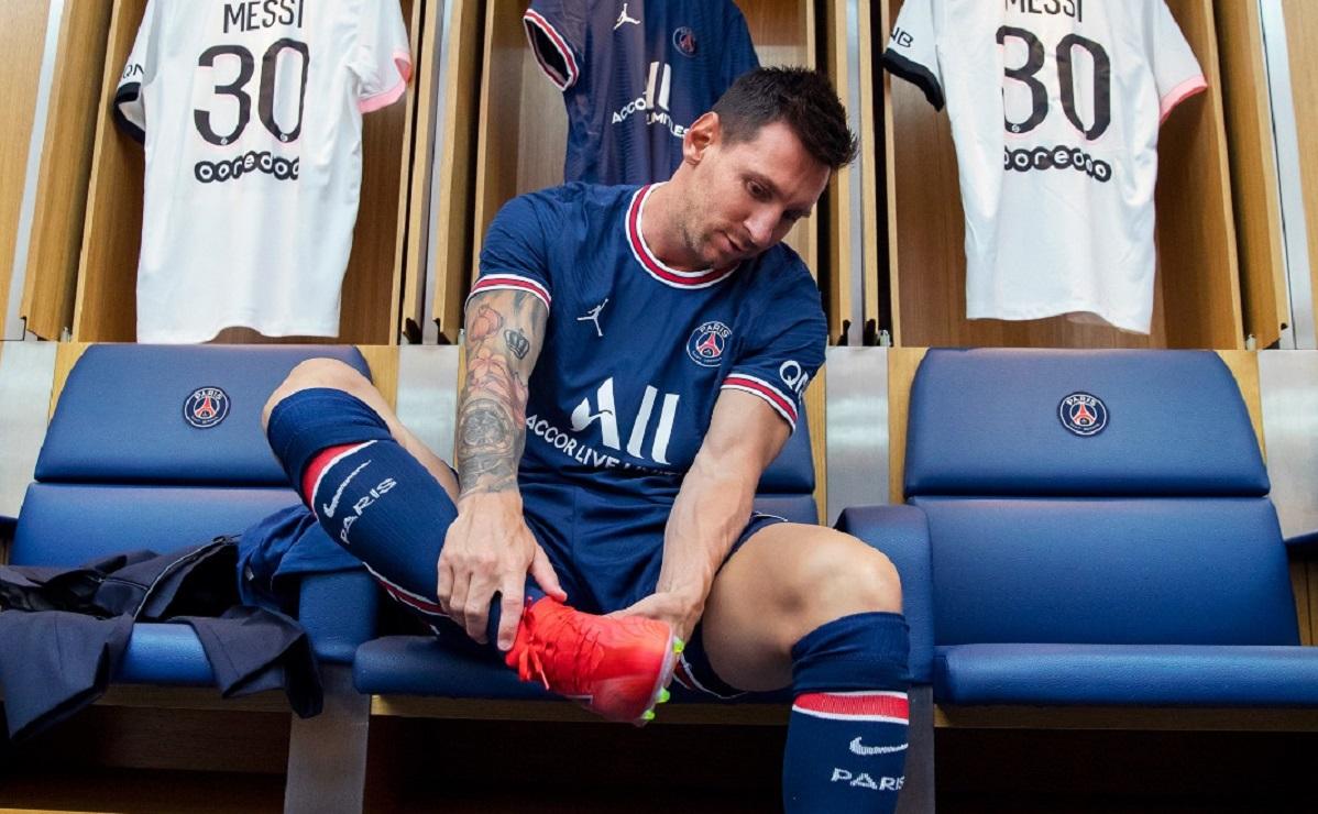 Lionel Messi, primul antrenament după ce a semnat cu PSG! Superstarul argentinian i-a lăsat pe Neymar şi Mbappe cu gura căscată