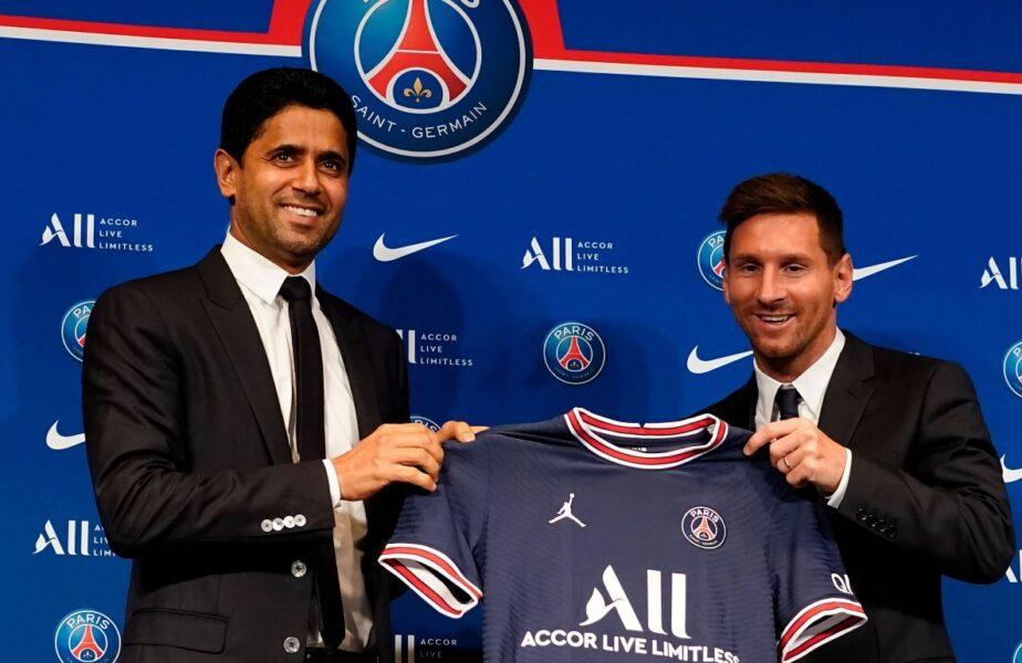 Francezii au aflat cifrele uriaşe din contractul lui Lionel Messi cu PSG! Prima de instalare astronomică