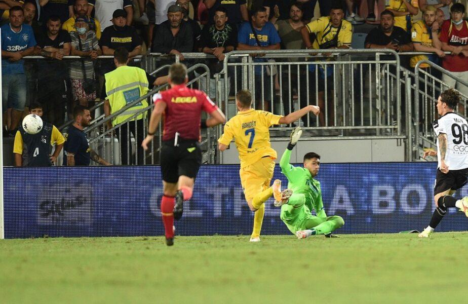 Tragedie înainte ca Dennis Man să înscrie primul său gol în Serie B. Un fan a murit în timp ce aştepta să intre la meciul Frosinone – Parma 2-2